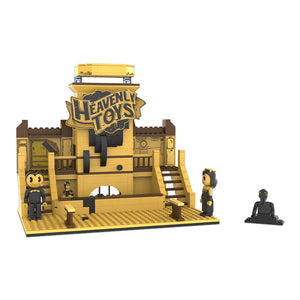 BATDR6301 - Bendy & The Dark Revival Heavenly Toys Construction Set - Click Distribution (UK) Ltd