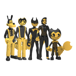 "BATDR6500 - Bendy And The Dark Revival Series 1 5"" Action Figures Assortment - Click Distribution (UK) Ltd"