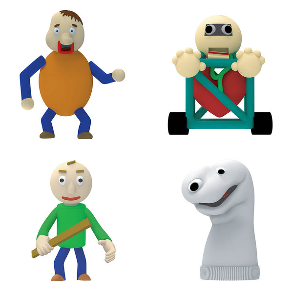 Baldi's Basic Collectable Figure Pack | Exclusive Toy ...