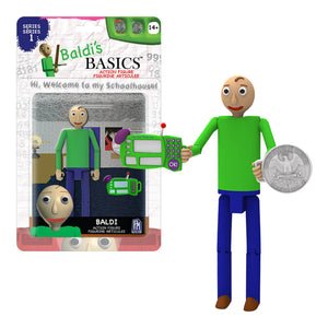 "BB0503B - Baldi's Basics 5"" Action Figures Baldi - Click Distribution (UK) Ltd"