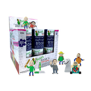 BB0507 - Baldi's Basics Collectable Mini Figures - Click Distribution (UK) Ltd