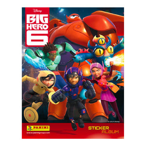 BH6SP - Big Hero 6 Sticker Collection Starter Pack - Click Distribution (UK) Ltd