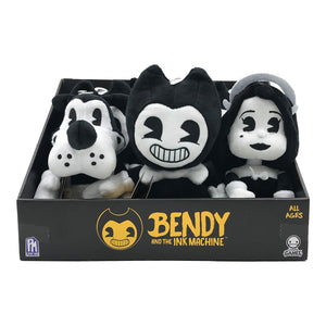 "BTIM6100 - Bendy & The Ink Machine 7"" Collectable Plush Asst. Set A - Click Distribution (UK) Ltd"