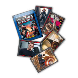 CAPTAMSC - Captain America Movie Sticker Collection Packs - Click Distribution (UK) Ltd