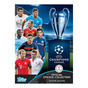 Champions League 2015/16 Sticker Collection - Click Distribution (UK) Ltd