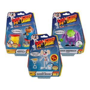 "DM11160 - Danger Mouse 3"" Action Figure Asst. - Click Distribution (UK) Ltd"