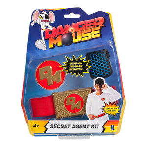 Danger Mouse Roleplay Eyepatch & Badge - Click Distribution (UK) Ltd
