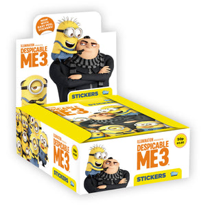 DM3STP - Despicable Me 3 Sticker Collection Packs - Click Distribution (UK) Ltd