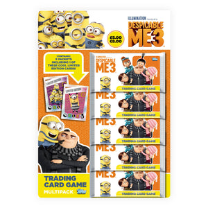 DM3TCGMP - Despicable Me 3 Trading Card Game Multipack - Click Distribution (UK) Ltd