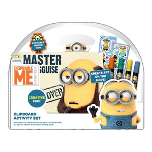 Despicable Me Clipboard Activity Set - Click Distribution (UK) Ltd