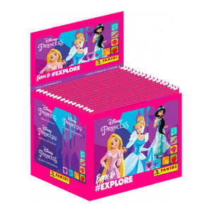 DPBTESTP - Disney Princess Born To Explore Sticker Collection Packs - Click Distribution (UK) Ltd