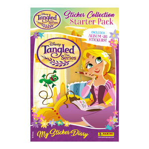 DTSTSP - Tangled The Series Sticker Collection Starter Pack - Click Distribution (UK) Ltd