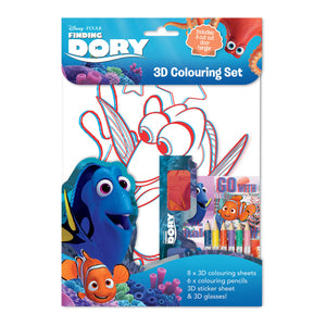 FDCST - Finding Dory 3D Colouring Set - Click Distribution (UK) Ltd