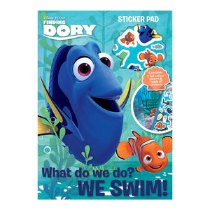 FDSTP - Finding Dory Sticker Pad - Click Distribution (UK) Ltd
