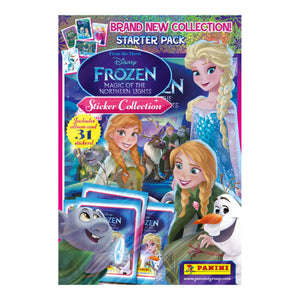 FMONLSA - Frozen Magic Of The Northern Lights Sticker Collection Starter Pack - Click Distribution (UK) Ltd