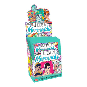 IBIMSTP - I Believe In Mermaids Sticker Collection Packs - Click Distribution (UK) Ltd