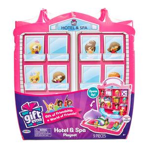 JAK09272 - Gift 'Ems Hotel and Spa Playset - Click Distribution (UK) Ltd