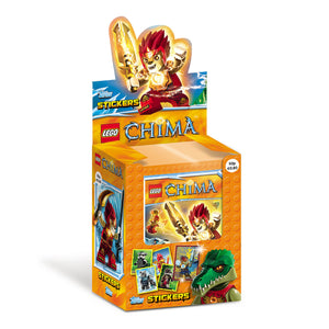 LEGOCST - Lego Chima Sticker Collection Packs - Click Distribution (UK) Ltd