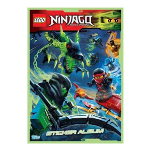 LEGONSTP - Lego Ninjago Sticker Collection Starter Pack - Click Distribution (UK) Ltd