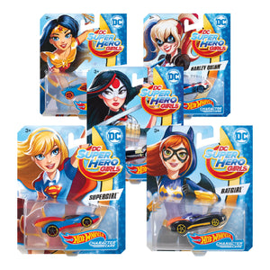 Hot Wheels DC Comics Superheroes Asst. - Click Distribution (UK) Ltd