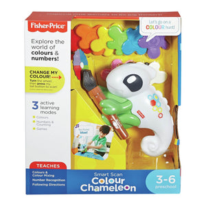 MADYP950 - Fisher-Price Counting Colours Chameleon - Click Distribution (UK) Ltd