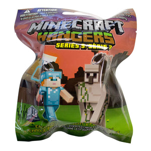 MINES3H - Minecraft Series 3 Hangers (Clip Strip) - Click Distribution (UK) Ltd