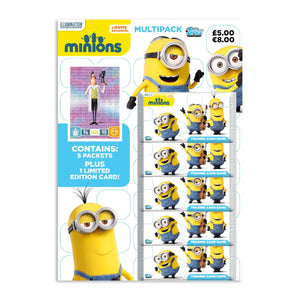 MINIONSTCGMP - Minions Trading Card Collection Multipack - Click Distribution (UK) Ltd
