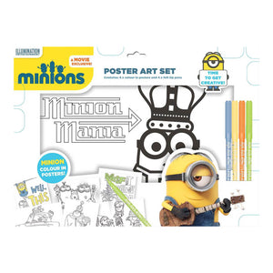 Minions Poster Art Set - Click Distribution (UK) Ltd