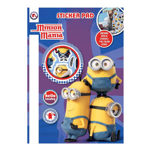 Minions Sticker Pad - Click Distribution (UK) Ltd