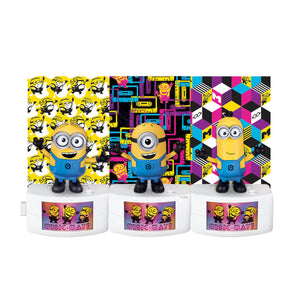 MTW20290 - Despicable Me 3 Music Mates Character Asst. - Click Distribution (UK) Ltd
