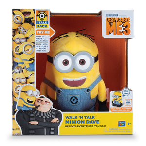 "MTW20429 - Despicable Me 3 7.5"" Walk & Talk Stuart & Dave Asst. - Click Distribution (UK) Ltd"