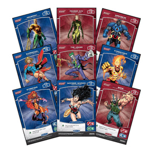Meta X Justice League Trading Card Game Packs