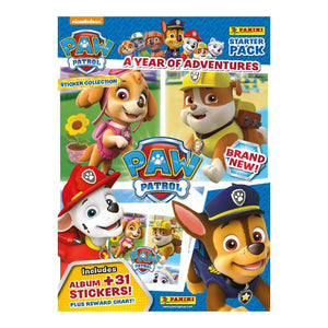 PAWAYOASP - Paw Patrol A Year Of Adventures Sticker Collection Starter Pack - Click Distribution (UK) Ltd