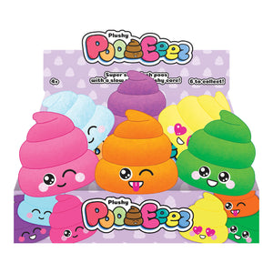 PE004 - Plushy Poo-Eeez - Click Distribution (UK) Ltd