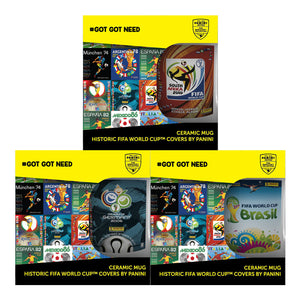 PH002 - Panini Heritage FIFA World Cup™ Ceramic Mugs - Click Distribution (UK) Ltd