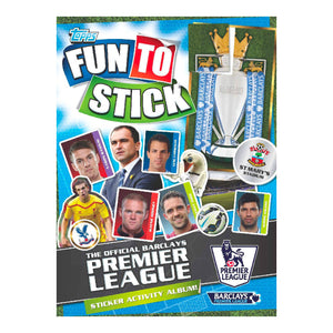 Premier League 2014/15 Activity Sticker Pack - Click Distribution (UK) Ltd