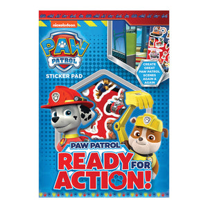 PPSTP - Paw Patrol Sticker Pad - Click Distribution (UK) Ltd
