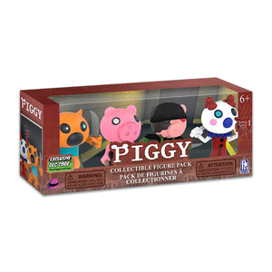 PIG7314 - Piggy Series 1 Collectable Figure 4PK Collector Figure Pack - Click Distribution (UK) Ltd