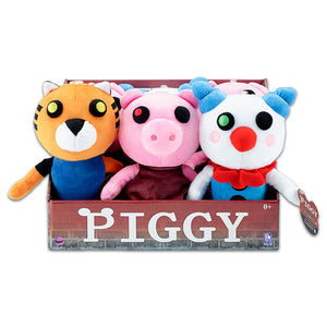 "PIG7307 - Piggy Series 1 7"" Collectable Plush Asst. Asst. - Click Distribution (UK) Ltd"