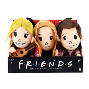 "FRI3500 - Friends 10"" Collectable Plush Asst. - Click Distribution (UK) Ltd"