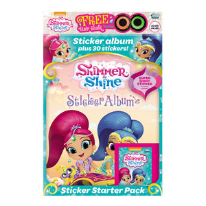 SASSTSP - Shimmer & Shine Sticker Collection Starter Pack - Click Distribution (UK) Ltd