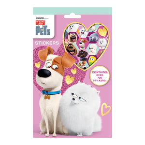 Secret Life Of Pets 700 Stickers - Click Distribution (UK) Ltd