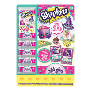 SHOPSPKMP - Shopkins SPK Squad Trading Card Game Multipack - Click Distribution (UK) Ltd