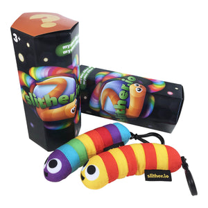 SIOPC001 - Slither.io Plush Clips - Click Distribution (UK) Ltd