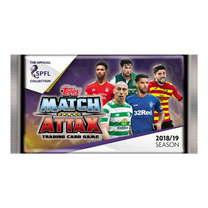 SPFLMA1819P - SPFL Match Attax 2018/19 Trading Card Game Packs - Click Distribution (UK) Ltd
