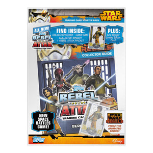 SWRSP - Star Wars Rebels Sticker Collection Starter Pack - Click Distribution (UK) Ltd