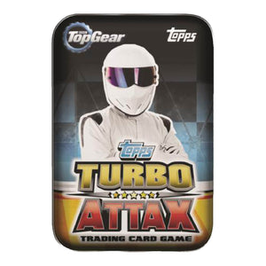 TG15T - Top Gear Turbo Attax 2015 Trading Card Game Mini Tin - Click Distribution (UK) Ltd