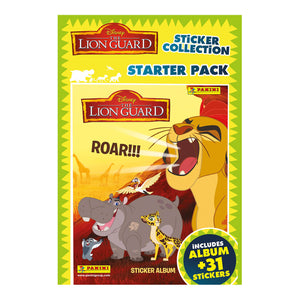 TLGSP - The Lion Guard Sticker Collection Starter Pack - Click Distribution (UK) Ltd