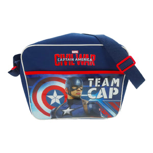 TMCIVIL001004 - Captain America Civil War Courier Bag - Click Distribution (UK) Ltd