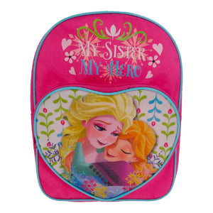 TMFROZ001026 - Frozen Nordic Summer Heart Arch Backpack - Click Distribution (UK) Ltd